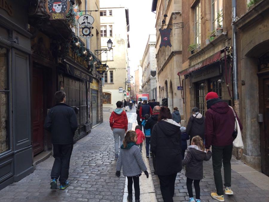 Visite vieux Lyon enfants