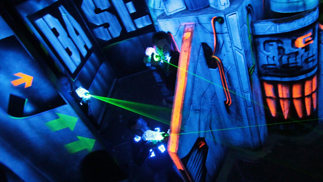 On A Teste Un Anniversaire Au Laser Game