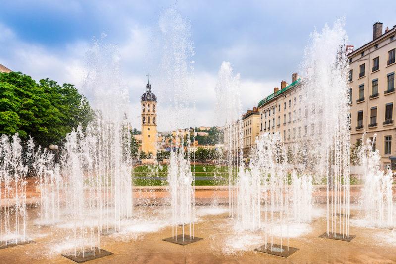 Fontaine à Lyon